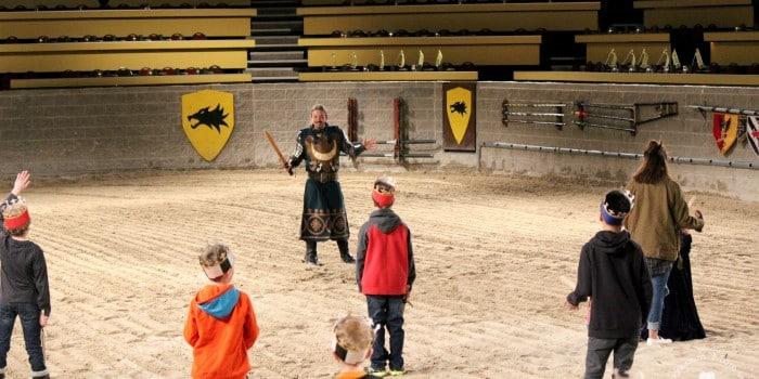 Junior Knight Training at Medieval Times