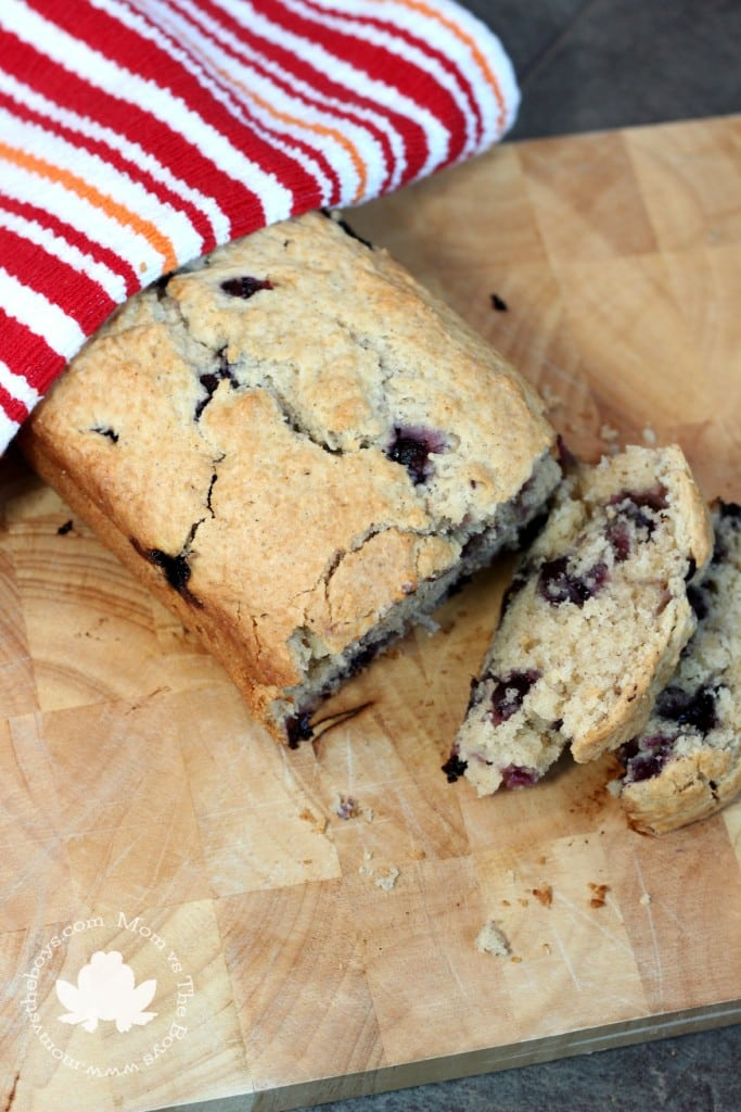 brown butter blueberry bread