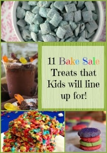 Bake Sale Treats the Kids will line up for!