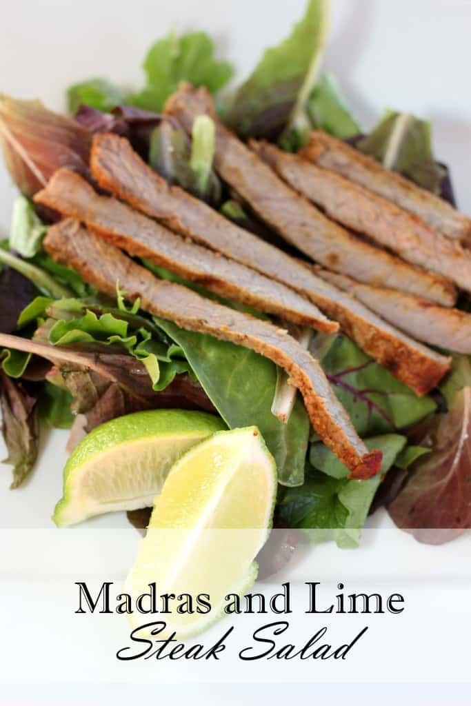 Madras and Lime Steak Salad