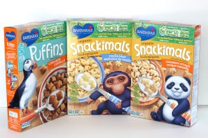 Good mornings start with Barbara's Organic Cereal