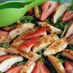 Chicken and Spinach Salad
