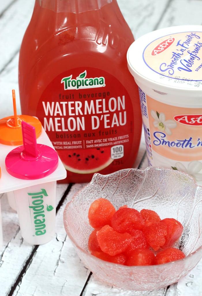 Watermelon Popsicle - Mom vs the Boys