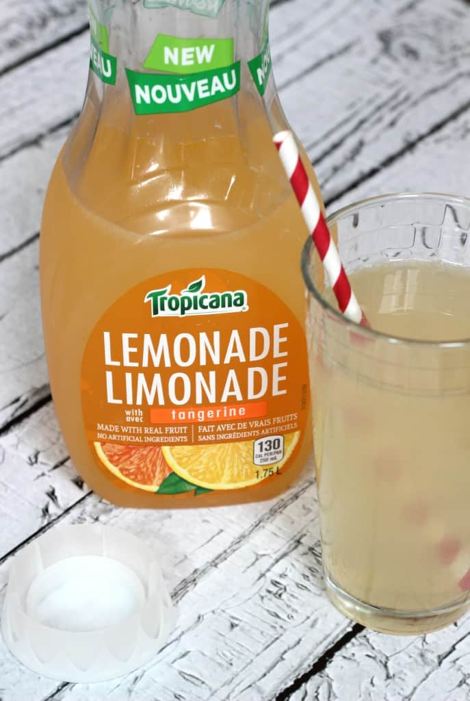 Tangerine Lemonade Sparkler
