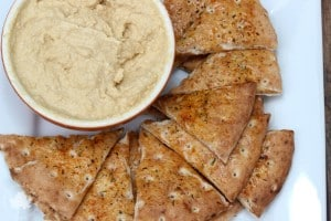 Garlic Parmesan Hummus