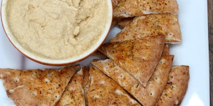 Garlic Parmesan Hummus {Giveaway}