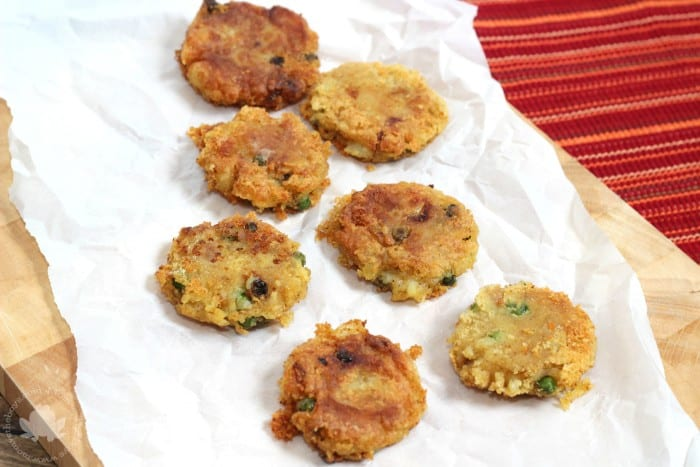 Crispy Samosa Patties - Mom vs the Boys