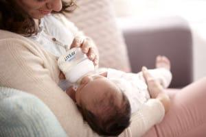 Mom Feeding Baby_Lifestyle