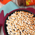 Reeses Peanut Butter Smores Pie