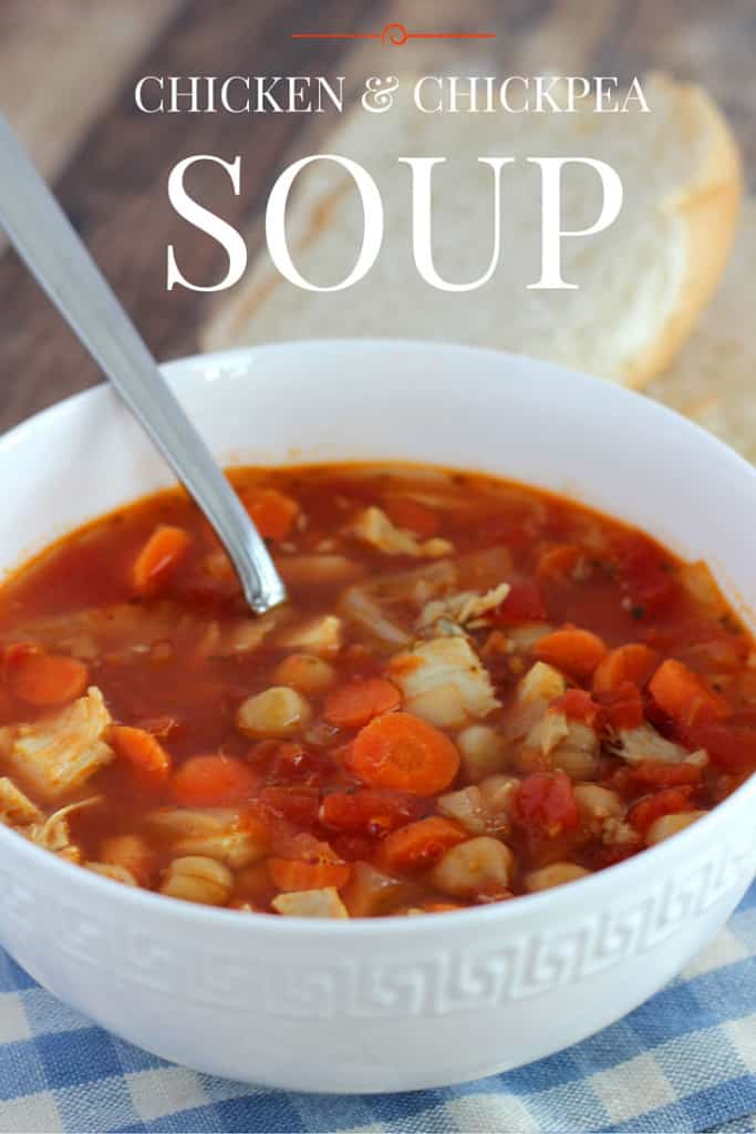 CHICKEN & CHICKPEA SOUP