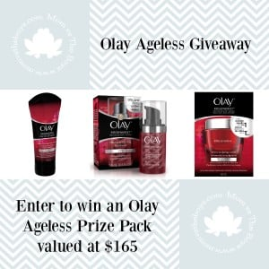 Age is just a number, Olay Ageless #Giveaway