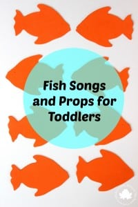 Fish Songs and Props for Toddlers