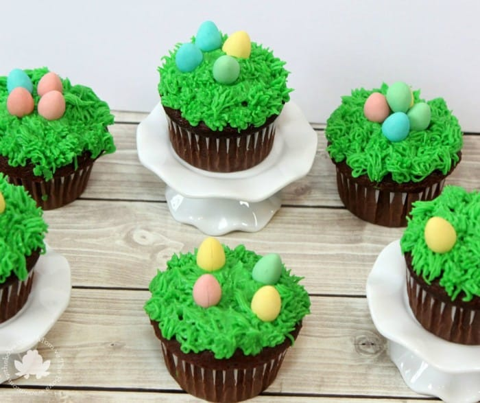 Easy Easter Cupcakes for kids