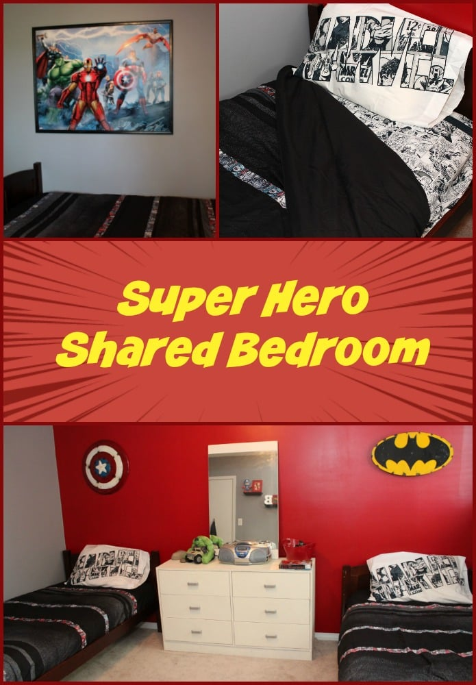 Super Herp Shared Bedroom - Mom vs the Boys