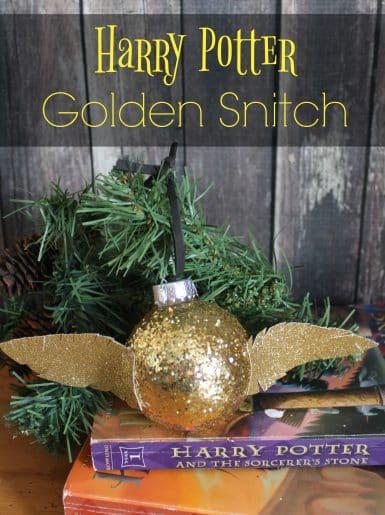 Golden Snitch Ornament