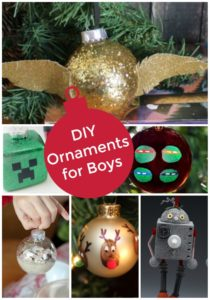 DIY Christmas Ornaments for Boys