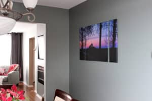 Personalize your home with custom canvas prints