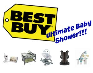 It's a Best Buy Baby Shower!! {Giveaway}
