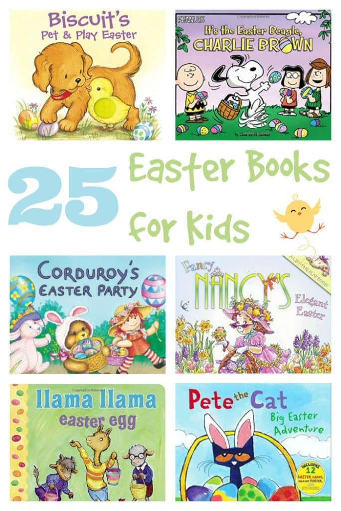 25 Easter Books for Kids - Mom vs the Boys