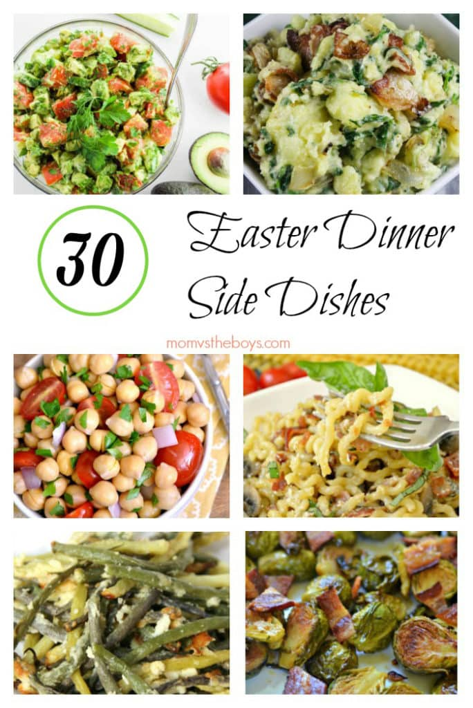 30 Easter Dinner Side Dishes - Mom vs the Boys