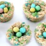 Birds Nest Rice Krispie Treats