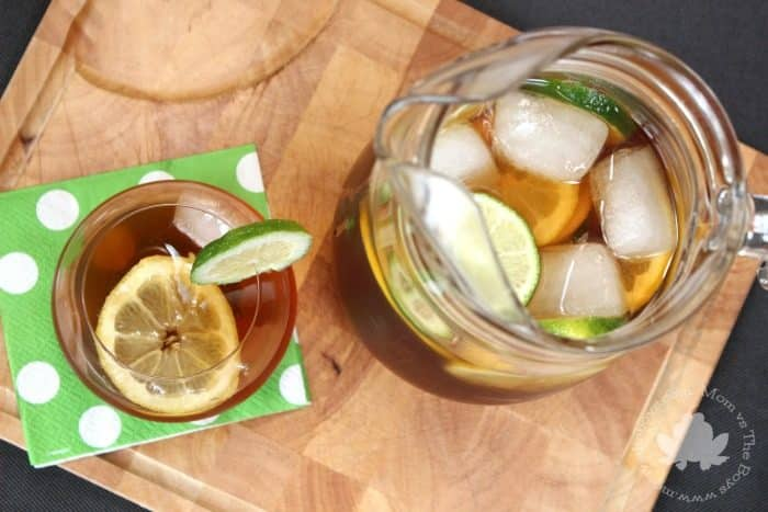 Iced Tea Sangria - Mom vs the Boys