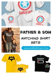 Father and Son Shirts for Dad and his Sidekick