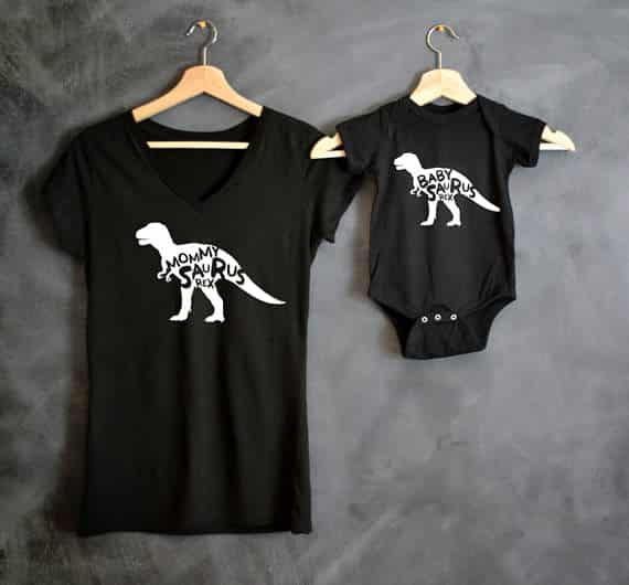 mommy and son shirts