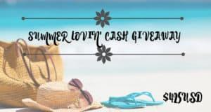 Summer Lovin' Cash Giveaway