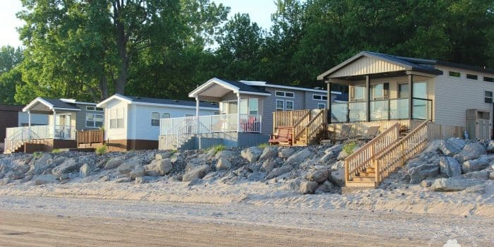 Sherkston Shores RV Resort on Lake Erie