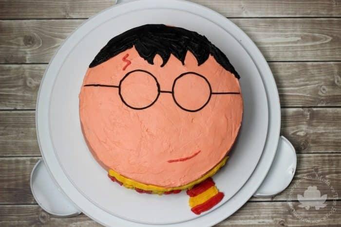 Harry Potter Cake - Mom vs the Boys