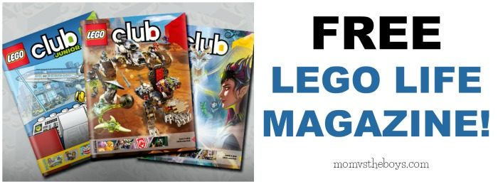 free lego magazine offer