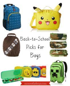 Back to School Picks for Boys