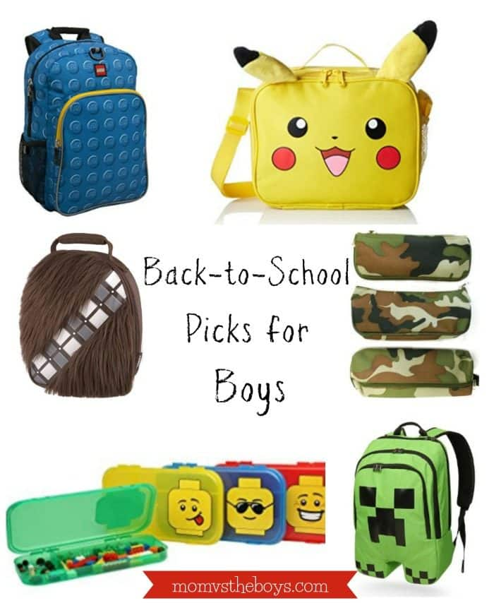 Back to School Picks for Boys. to School Picks for Boys   Mom vs the Boys