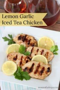 Lemon Garlic Iced Tea Chicken