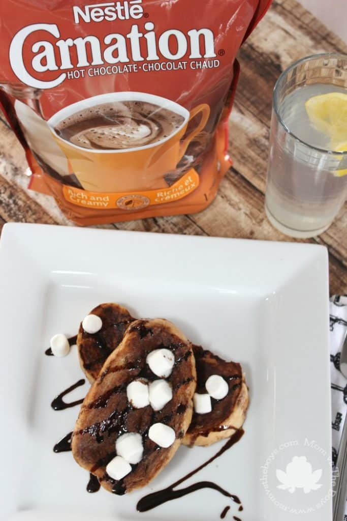 Hot Chocolate French Toast - Mom vs the Boys