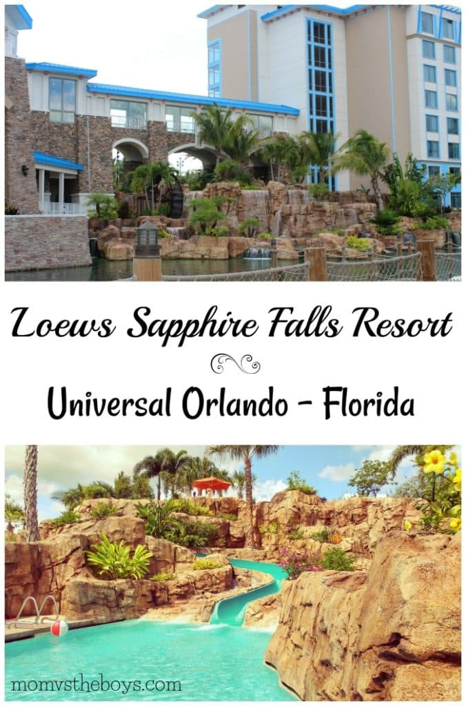 . Universal Orlando   Loews Sapphire Falls Resort   Mom vs the Boys
