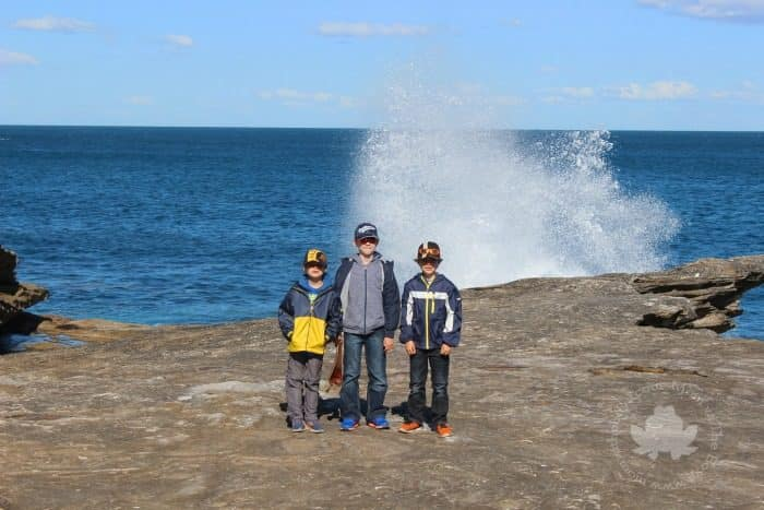 Sydney with Kids - bondi to coogee coastal walk