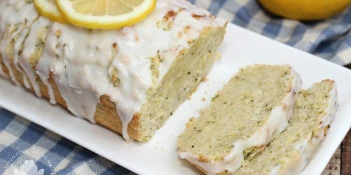 Glazed Lemon Zucchini Loaf