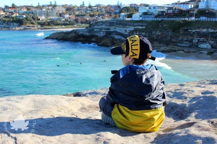 Visiting Sydney with Kids - bondi to coogee coastal walk