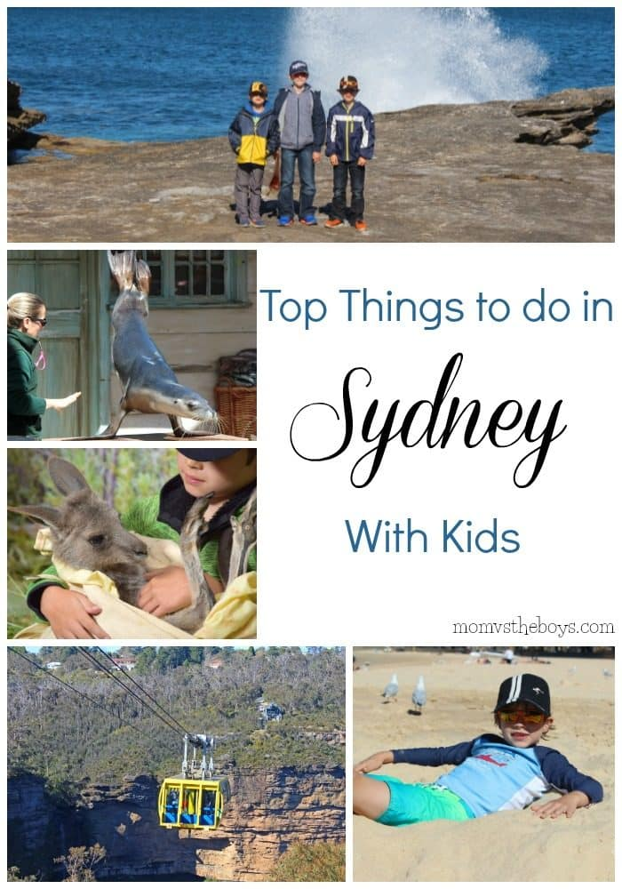 Top Things to do in Sydney with Kids - Mom vs the Boys