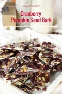 Cranberry Pumpkin Seed Bark