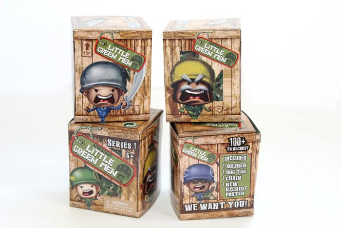 awesome little green men blind box