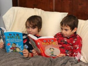 Raising Readers thanks to Big Nate