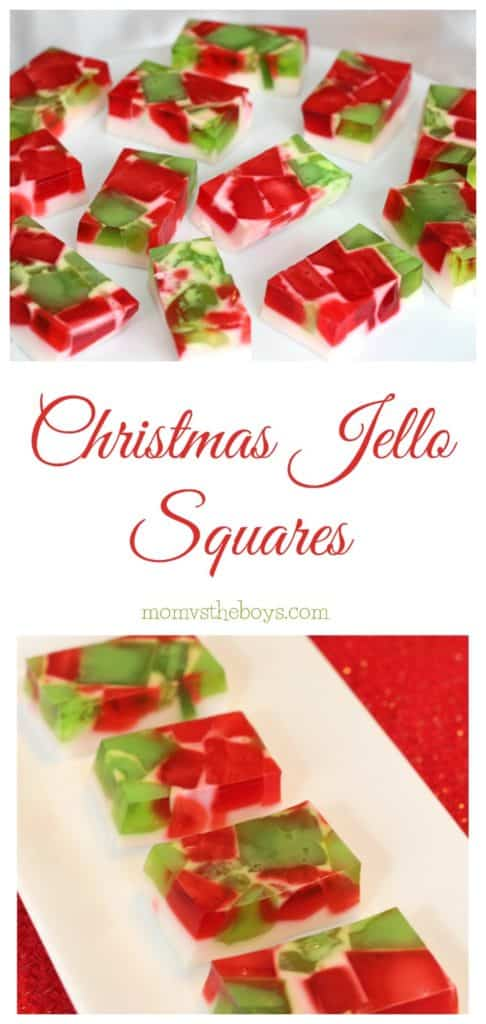 Christmas Broken Glass Jello Squares. Christmas Broken Glass Jello Recipe