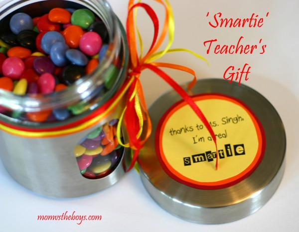 Teachers Gift with Smarties