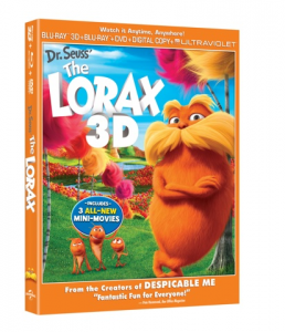 The Lorax is now available on Blu-Ray!