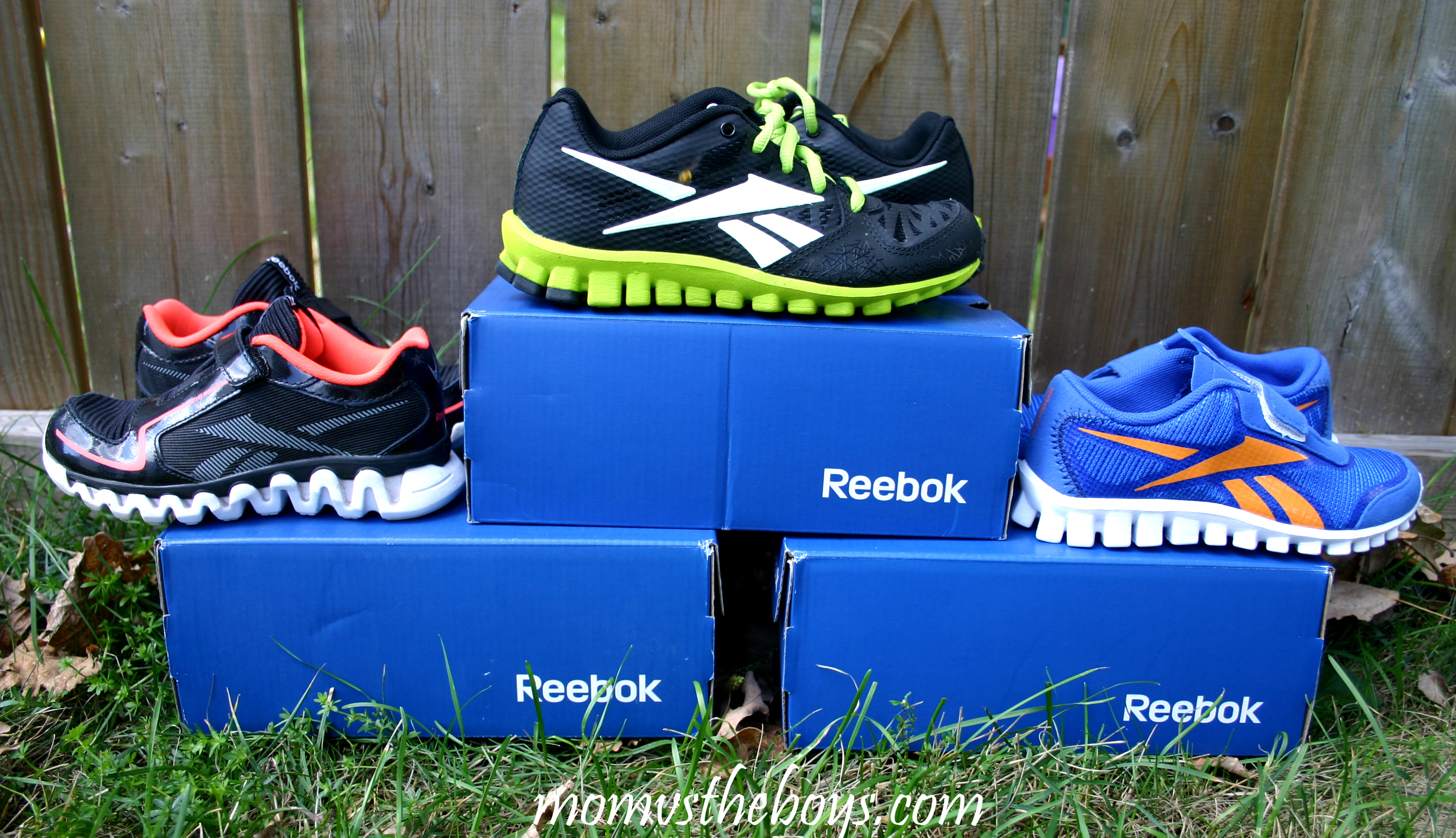Reebok s RealFlex and ZigTech Collection for Kids 20ff88fce