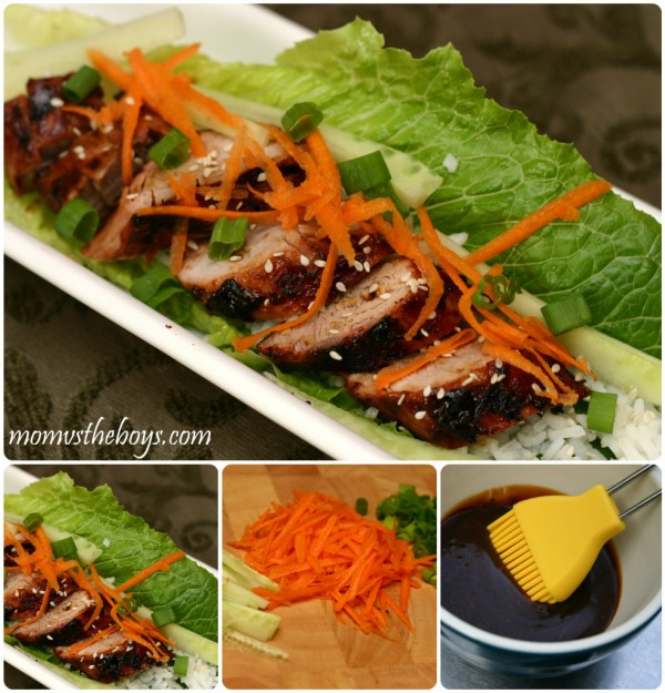 VH Korean Pork Lettuce Wraps
