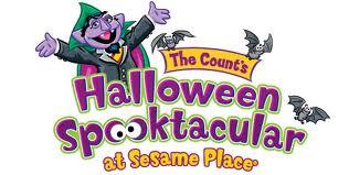 spooktacular at sesame place